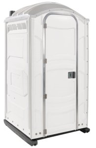 New Jersey Portable Toilet - white unit for special event